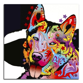 Colorful Husky Metal Printed on Metal Wall Decor