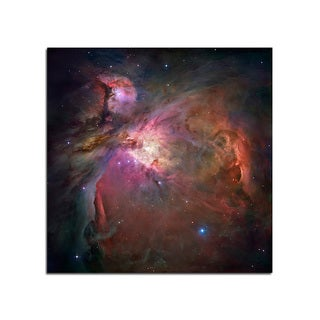 Orion Nebula -Space Fantasy 12x12 Ready to Hang Printed on Metal Wall Decor