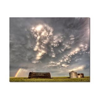 Storm Clouds Weather Wonders 16x20 Digital Image Printed on Metal Wall Decor