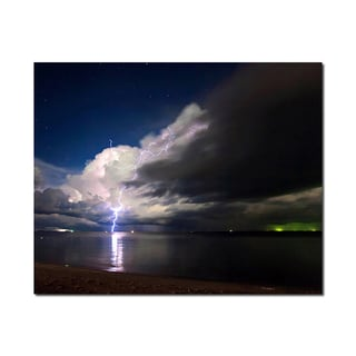 Above the Sea Weather Wonders 16x20 Digital Image Printed on Metal Wall Decor