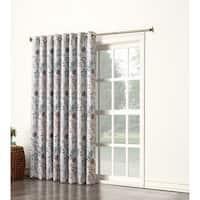 Sun Zero Andy Room Darkening Wide Patio Door Curtain Panel