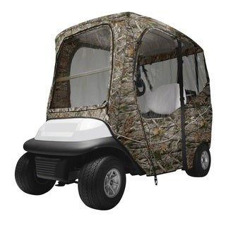 Deluxe Golf Car Enclosure Next Vista G1 Camo