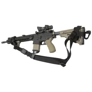 Tac Shield Combat Sling Universal 3-Pt Black
