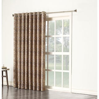 Sun Zero Gail Grommet Room Darkening Window Patio Curtain Panel