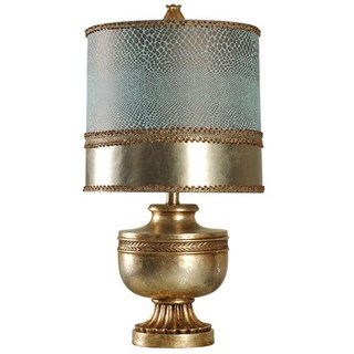 Vintage Gold Metal Accent lamp