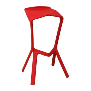 Mod Made Modern Plastic Aspect 32-inch High Barstool (Set of 2)
