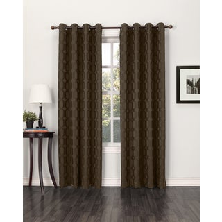 Sun Zero Tane Grommet Blackout Window Curtain Panel