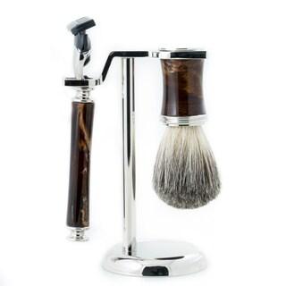 Mason Fusion 3-piece Shave Set
