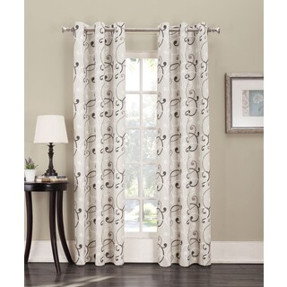 Sun Zero Parry Grommet Thermal Lined Window Curtain Panel