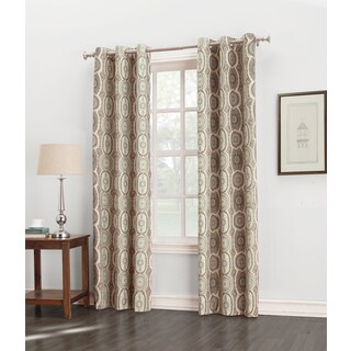 Sun Zero Carlene Grommet Thermal Lined Window Curtain Panel