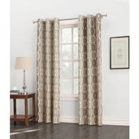 Sun Zero Carlene Grommet Thermal-lined Window Curtain Panel
