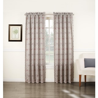 Sun Zero Idan Rod Pocket Room Darkening Window Curtain Panel
