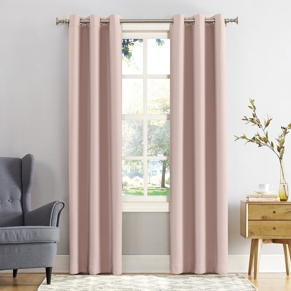 Sun Zero Hayden Energy Saving Blackout Grommet Curtain Panel. Opens flyout.