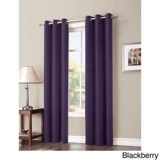 Sun Zero Hayden Grommet Blackout Window Curtain Panel (3 options available)