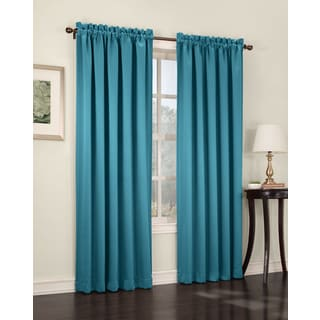 Sun Zero Galia Rod Pocket Room Darkening Window Curtain Panel or Valance - Thumbnail 0
