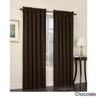 Sun Zero Galia Rod Pocket Room Darkening Window Curtain Panel