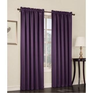 Sun Zero Galia Rod Pocket Room Darkening Window Curtain Panel or Valance (More options available)
