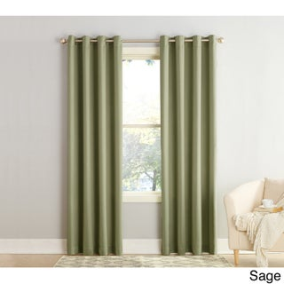 Sun Zero Galia Grommet Room Darkening Curtain Panel (4 options available)