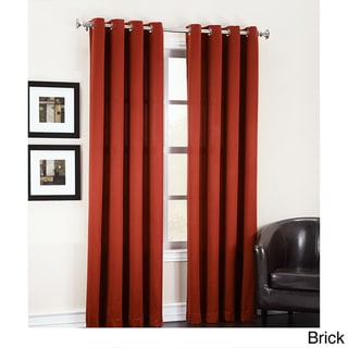 Sun Zero Galia Grommet Room Darkening Window Curtain Panel