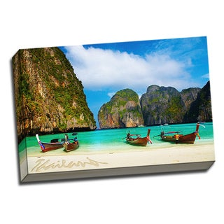 Thailand Traveler Collection Printed on Framed Ready to Hang Canvas