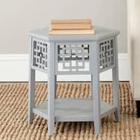 Safavieh Zelda Pearl Blue Grey End Table
