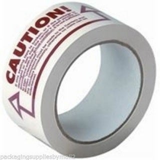 3240 Rolls Caution Printed Tapes 2-inch x 110 Yards 2 Mil Box Packing Shipping Tape