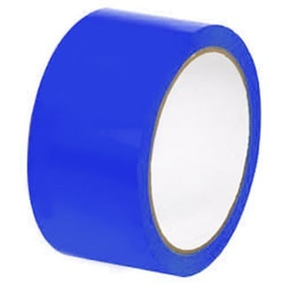 2-inch x 110 Yards 6 Rolls Blue Color Packing Tape Sealing Tape 2 Mil