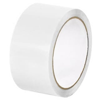 2-inch x 110 Yards 36 Rolls White Color Packing Sealing Tape 2 Mil