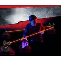 SpyX Lazer Trap Alarm - set up super bright LEDs to protect your stuff - Black