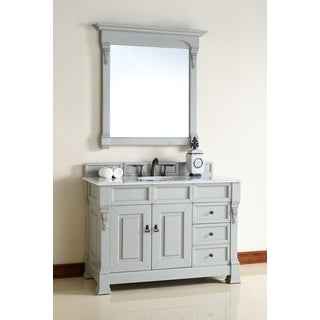 "Brookfield Urban Gray 48"" Single Vanity cabinet w/ Drawers"