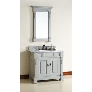 36 Inch Single Sink Vanity in Grey