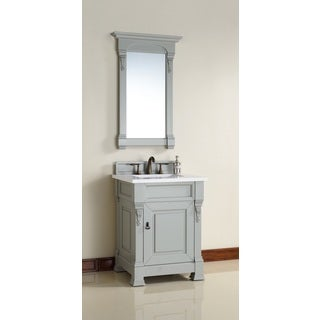 "Brookfield 26"" Urban Gray Single Vanity cabinet"