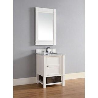 """Madison 26"""" Cottage White Single Vanity Cabinet"""