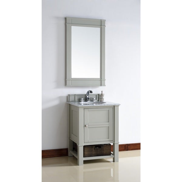 26 inch single sink vanity in grey free shipping today