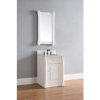 26 Inch Single Vanity in White