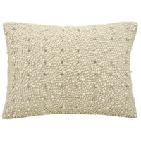kathy ireland Pearls And Diamonds Ivory Throw Pillow (12-inch x 16-inch) by Nourison