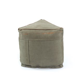 Army Tent Designed Pouf