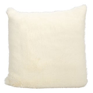 kathy ireland Ivory Throw Pillow (20-inch x 20-inch) by Nourison