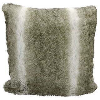 kathy ireland Silver/Grey Throw Pillow (20-inch x 20-inch) by Nourison