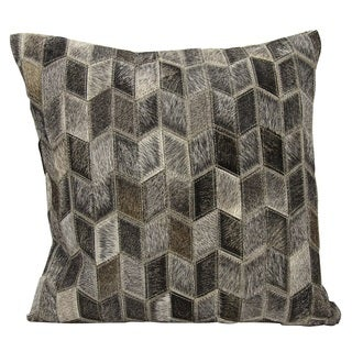 Joseph Abboud Arrowhead Chevron Dark Grey Throw Pillow (20-inch x 20-inch) by Nourison