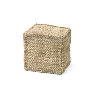 Hip Vintage Canvas Boatyard Pouf