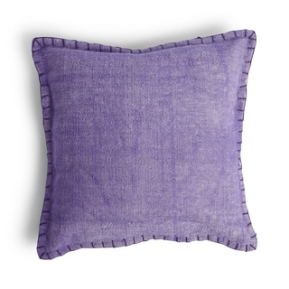 Purple Taylor Throw Pillow