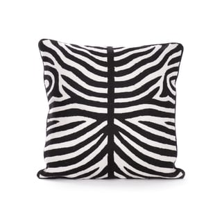 Zebra Designed Throw Pillow