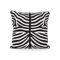 Zebra Striped Pillow