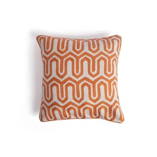 Hip Vintage Orange Chaca Accent Pillow