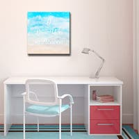 Ready2HangArt™ 'I Love you in Heaven' Wrapped Canvas Art