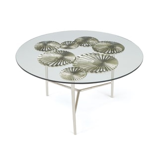 Hip Vintage Silver Print Glss Sierra Coffee Table