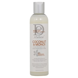 Design Essentials Coconut and Monoi Curl Enhancing 8-ounce Hydration Milk