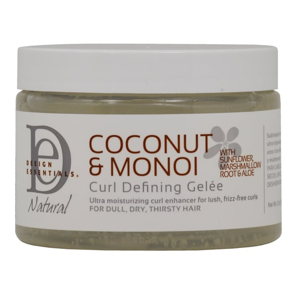 Shop Design Essentials Coconut And Monoi Curl Defining 12 Ounce