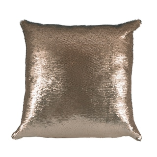Mermaid Gold/Ivory 17X17 KE Fiber Pillow